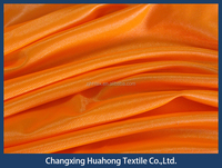 100% Polyester dazzle jersey knit fabric with AZO free dyes for sport wear t shirt from China