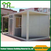 Earthquake resistant portable cabin site container house for sale