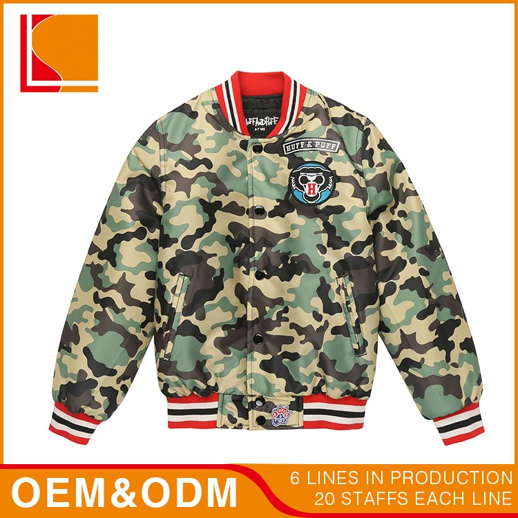 Boy Warmer Wholesale Camouflage Kid Clothing Set For Sale
