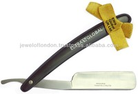 "ELTRA GLOBAL Barber's Open Fixed Blade Cut Throat Straight Razor (Stainless Steel 5.5"" )"