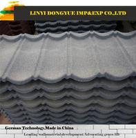 stone granule coated steel roof tile lightweight timber shingle metal roof with stone chip