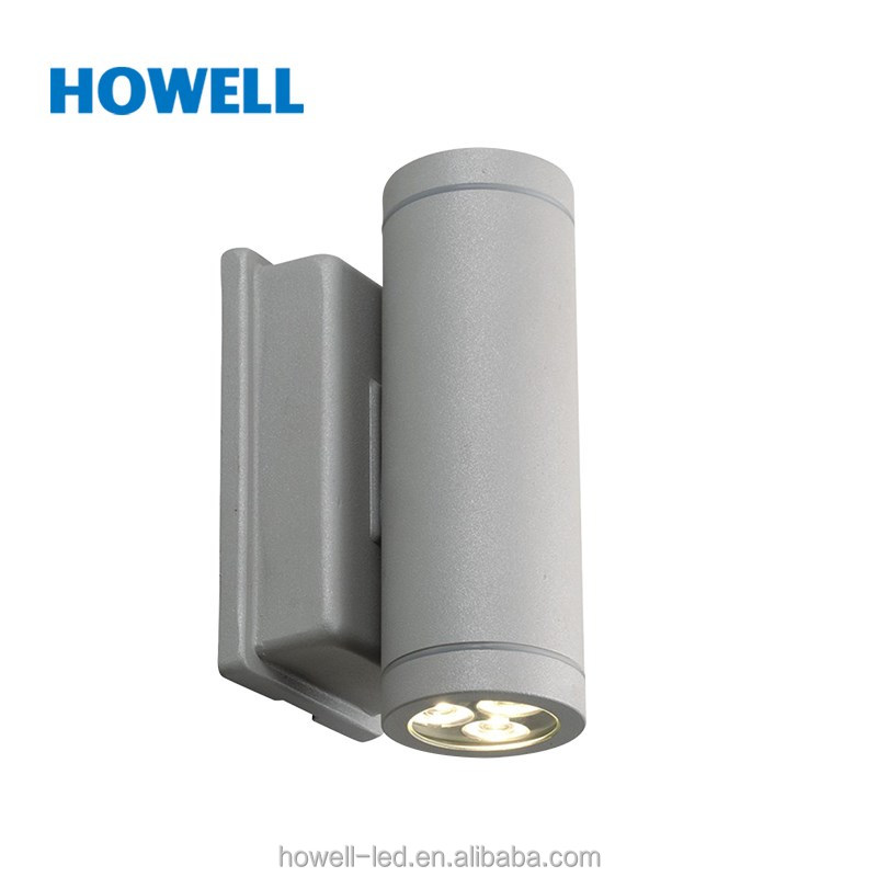 FH00701 China Supplier 220-240V Normal Specification Aluminium Material CE Certificate Outdoor IP44 COB 2*3W LED Wall Lighting
