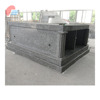 Gray Granite Double Crypts Pre Assembled