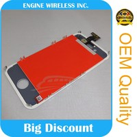Original repair tool kit For Iphone 4s lcd screen digitizer glass spare part