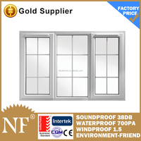 grill insert decorative aluminium casement glass window