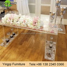 Wedding Bridal Acrylic Table for Sale
