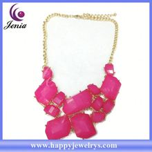 Latest design fashionable jewelry necklace wholesale vietnam jewelry MDN0864-6