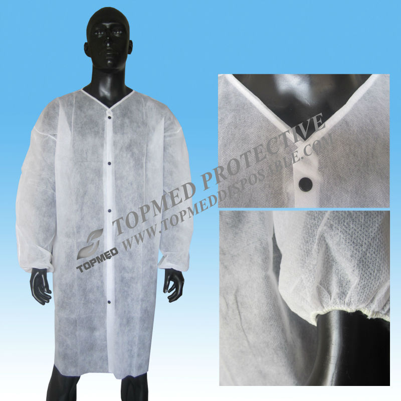 Disposable hospital gowns,lab coat,Medical Nursing,doctor,surgical Uniform scrubs with white color