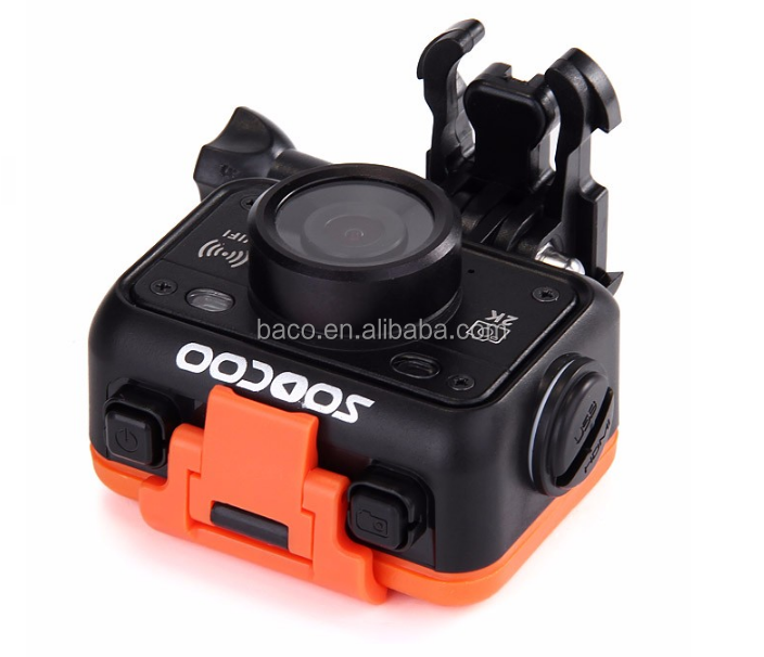 Waterproof sport action camera soocoo s70 wifi 2K video action camera