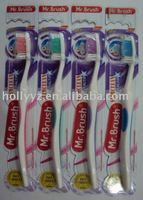 2014 new design adult wholesale travel toothbrush No.HY-3038