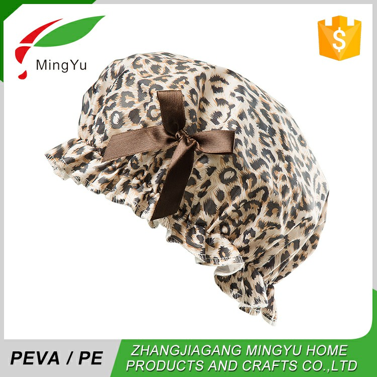 Free Samples Worldwide Best Selling Peva/Pe Big Shower Cap
