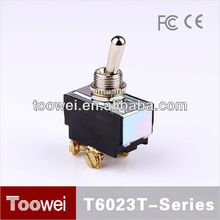 CE,IP67,RoHS 3 way toggle switch