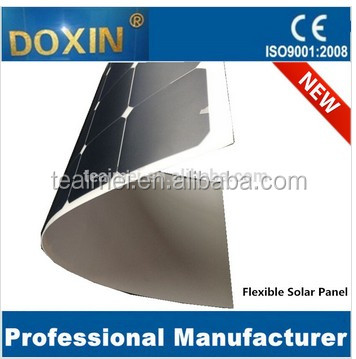 Flexible solar panel 50-200W in manufacturing machine of cells in panel