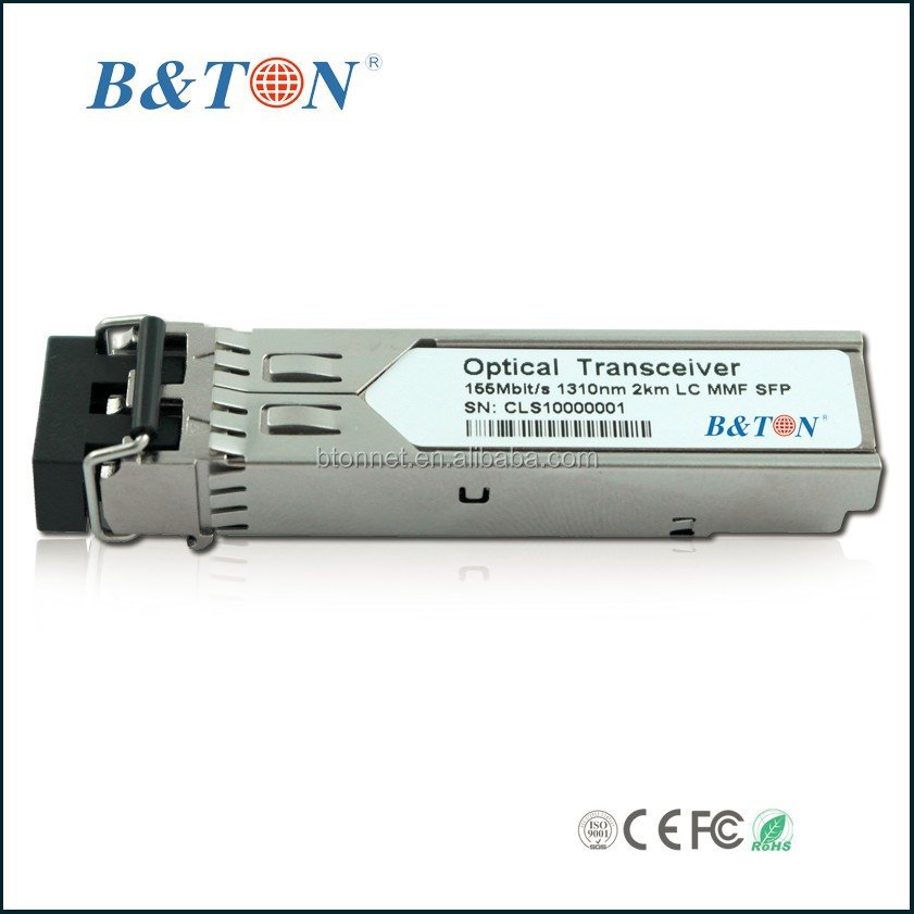 155M 80KM SM LC connector sfp optical transceiver module with DDM