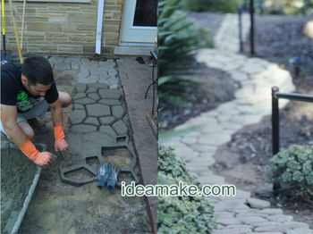 Quikrete Walk Maker-DIY your garden and pave ways