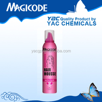 Aerosol hair spray Hair Styling Mousse spray hair mousse products
