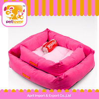 cheap dog soft and lovely square pet bed