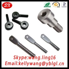 Milling Machine Small Galvanized Screw Fastener Flat Head Eye Bolts M10