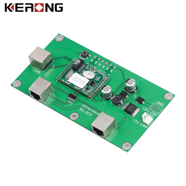 Intelligent lock control board PCB for vending machine access control system