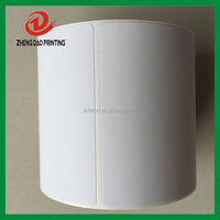premium quality blank cutomize dimention direct thermal paper sticker with dotted line