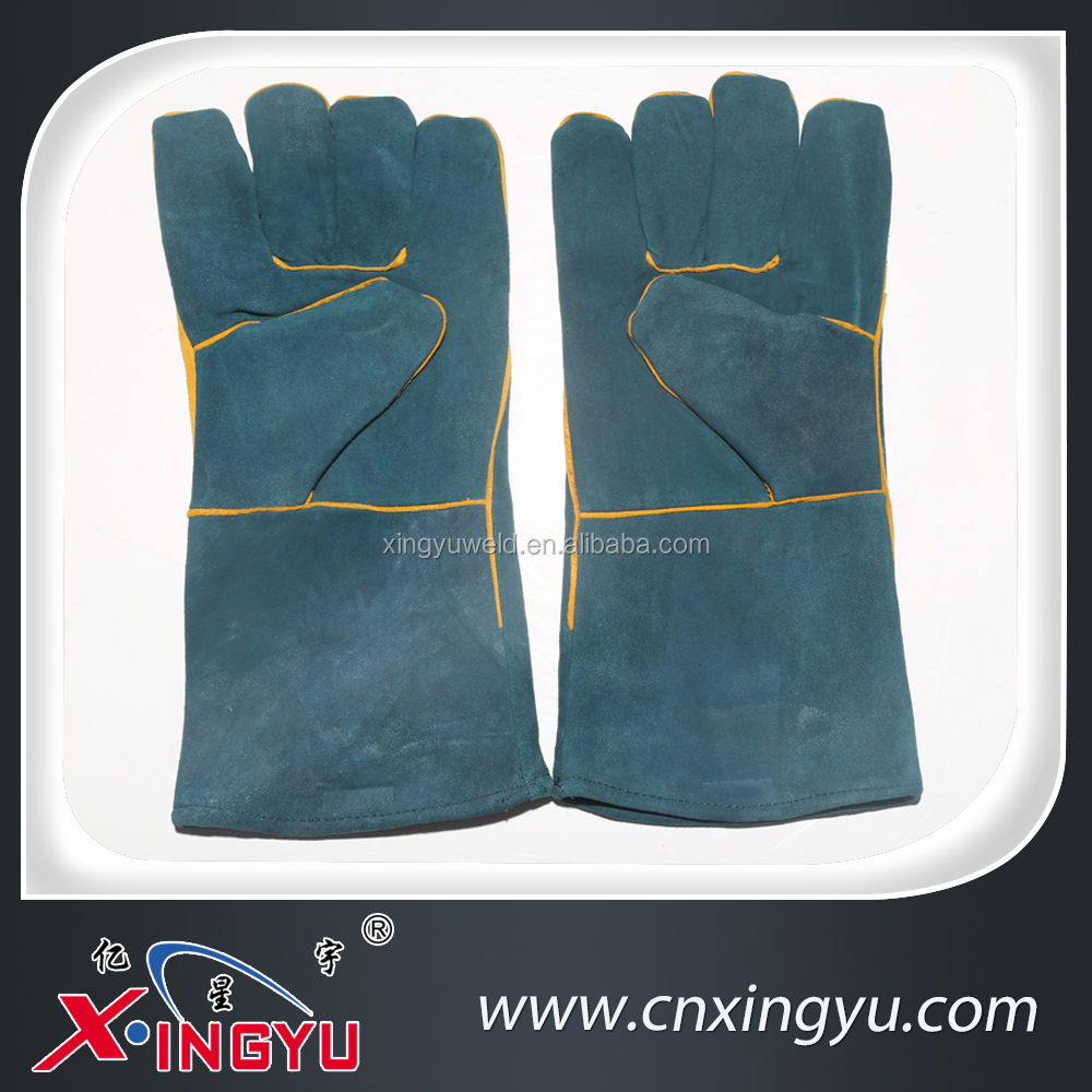 Cow Leather Electrical Insulation Tig Welding Gloves
