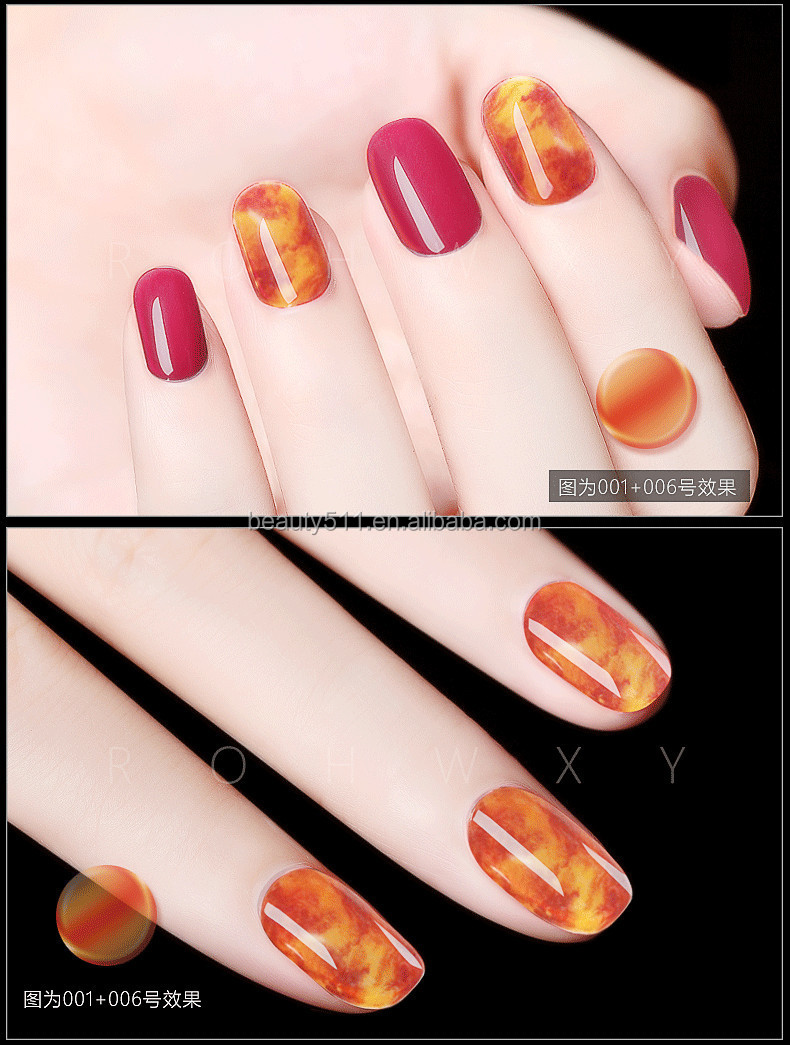 12ml New style Manicure shop Phototherapy Gel Amber Nail Polish