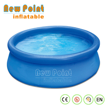 pvc adult size large water deep adult swimming inflatable pool