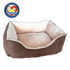 Aimigou small medium and large Soft Plush Cat Dog Pet Bed With Removable Cushion