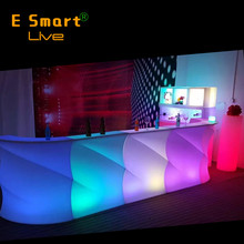 led small bar counter for home/ led cafe bar counter design