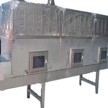 tunnel type herbs fast industrial microwave dryer