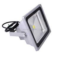 50W Solar Power LED Flood Night Light Waterproof Outdoor Lamp Garden Spotlight