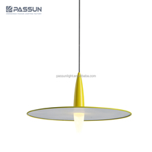 bucket hat 5W yellow LED acryl chandelier pendant lights 2018 newest modern pendnnt lights from PASSUN