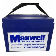 Maxwell 16V 500F super capacitor battery 12v graphene car audio ultracapacitor solar power system home