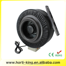 Hydroponics Inline Duct Fans with Balanced Thermally Protected AC Motor
