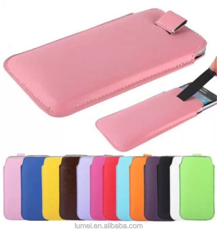 PU Leather Sleeve Pouch Wallet Bag Skin Cover Case For Nokia Asha 302