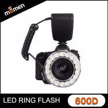Manufactory Newest Macro Ring Flash 3000K-9000K Speedlite LCD Display Screen Universal Camera Ring Flash Light