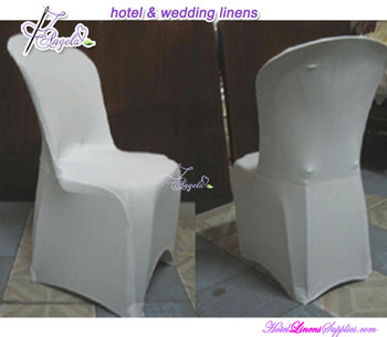 white spandex bistro chair covers, lycra bistro chair covers, stretch bistro chair covers for bistro chairs