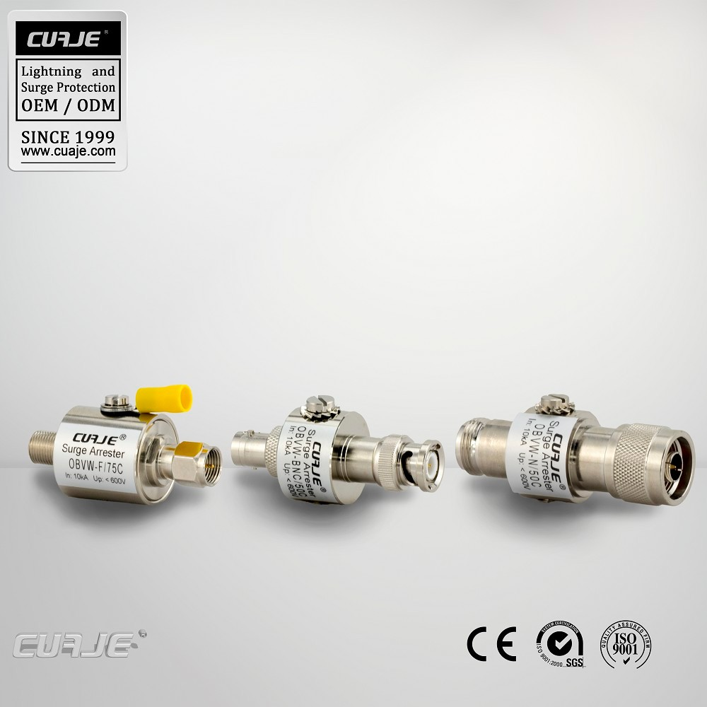 coaxial cables surge protection