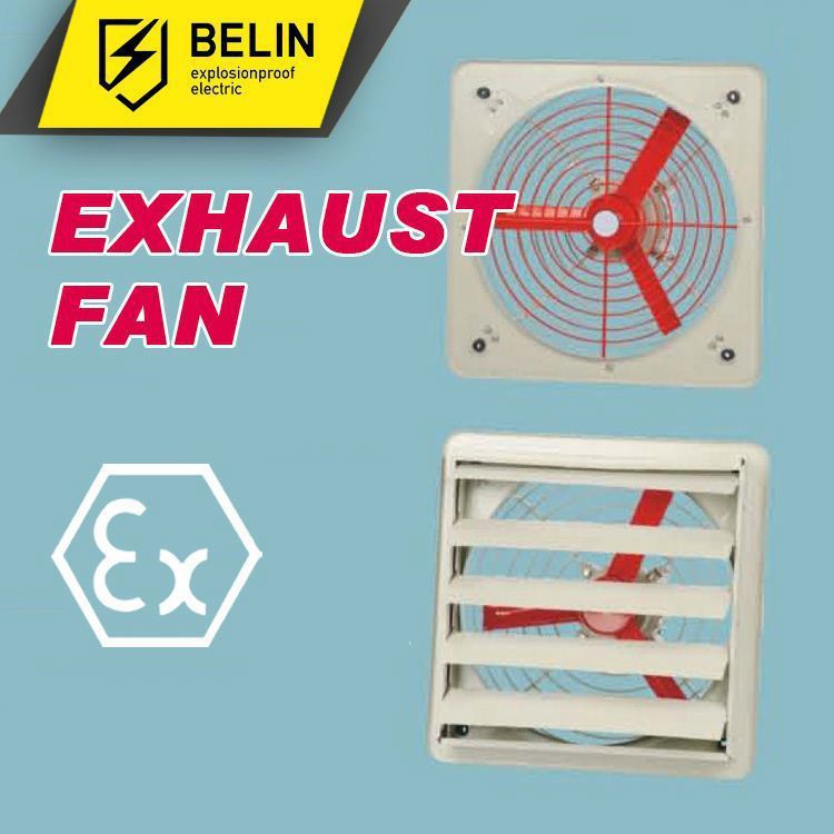 Explosion proof Bathroom Extractors Fans