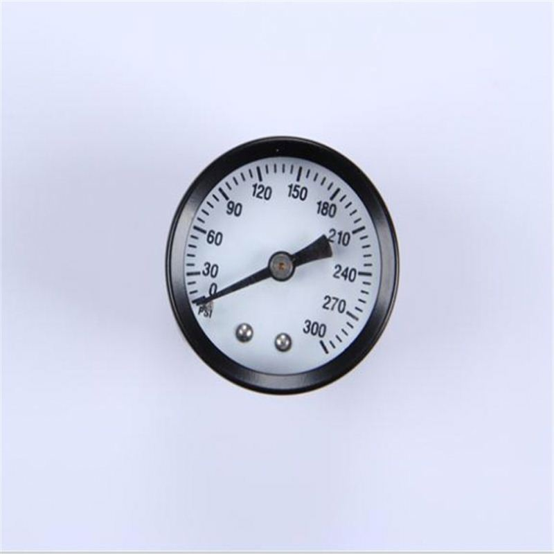Durable Light Weight Easy To Read Clear Caterpillar Hydraulic Pressure Gauge