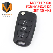 Remote control auto car key for Hyundai I20 3button 433MHz