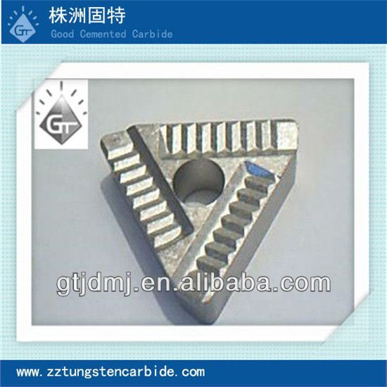 Zhuzhou Triangle high quality tungsten carbide indexable CNC ceramic cutting blade