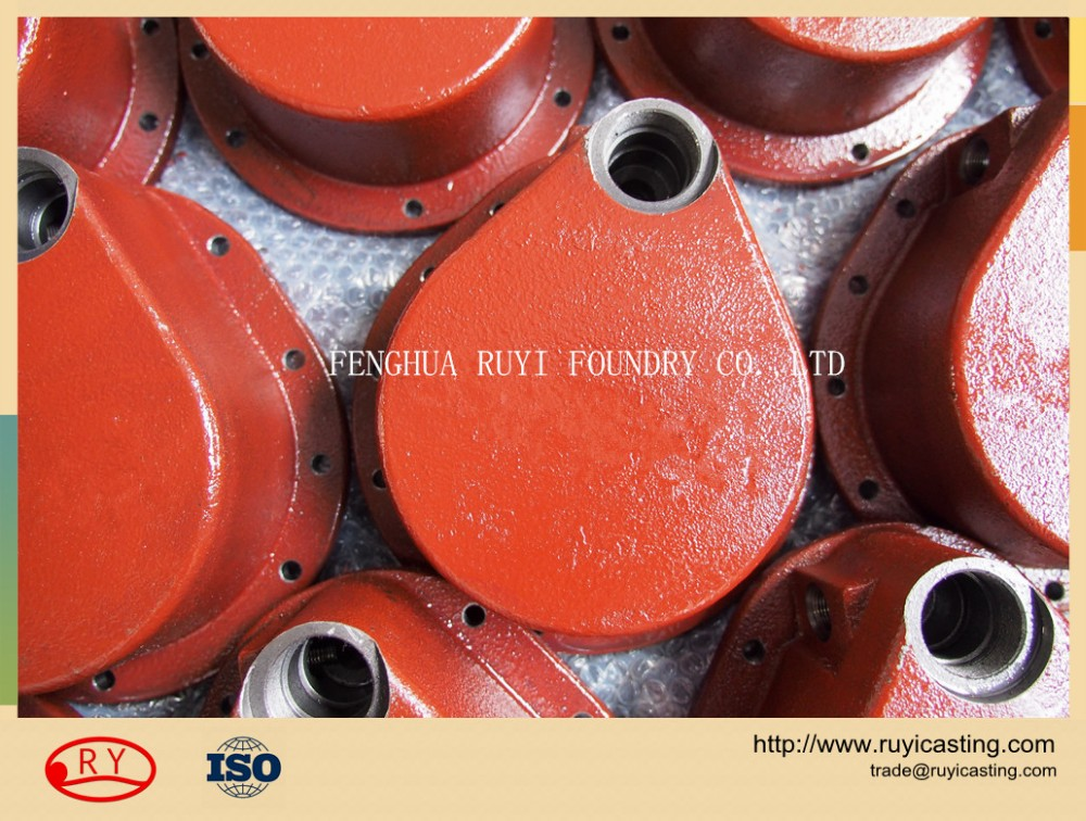 Ningbo sand casting ductile iron cast construction machinery parts