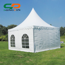 2017 Cheap Factory price 5x5m Luxury Pagoda Type Wedding tent for sale