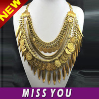 Indian style exaggerate antique coins wholesale fashion jewelry