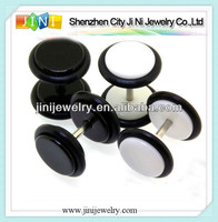 body piercing jewelry uv fake plug