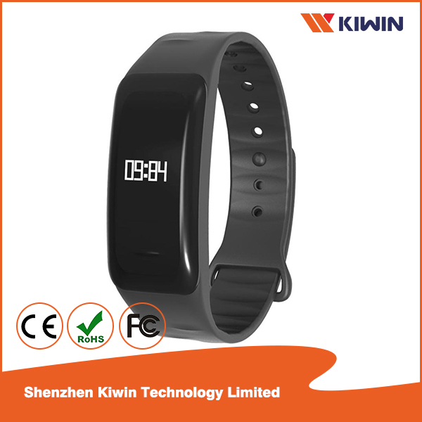 Smart Watch Wristband OLED Diaplay Heart Rate Monitoring IP67 Waterproof Measuring Blood Pressure