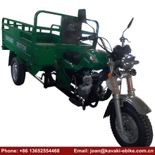 Guangzhou Kavaki Three Wheel Commercial Strong Gasoline Tricycles Motocycles for Heavy Cargo