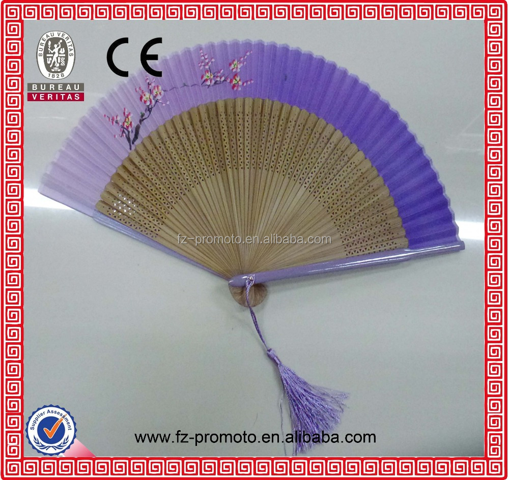 Travel products Lady Accessories Silk Hand Fans