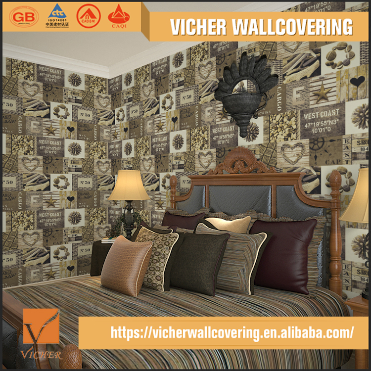 Variety Styles Exquisite Design Durable Wholesale Cheap Wallpaper